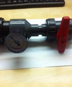 Druckregulierungssatz für Messwasserpumpe