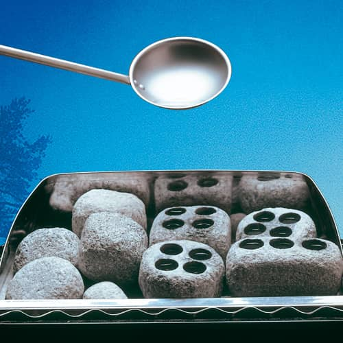Dampfsteine (2 Stück im Karton)