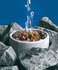 Saunatroikka Wasserfontäne Speckstein