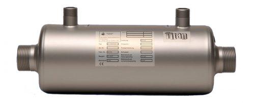 Schwimmbadwärmetauscher TWT 35 aus Titan