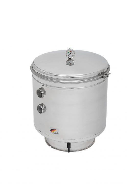 Behncke Europa Edelstahl-Filterbehälter 1010^2 mm
