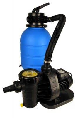 TM/ Aquatechnix Filteranlage TM 500 & Aqua Plus 8 & Praher 6-Wege-Ventil Filteranlage Bild 1