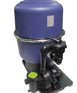 SZG/ Aquatechnix Filteranlage SZG 40 & Aqua Plus 6 & Praher 6-Wege-Ventil Filteranlage Bild 1