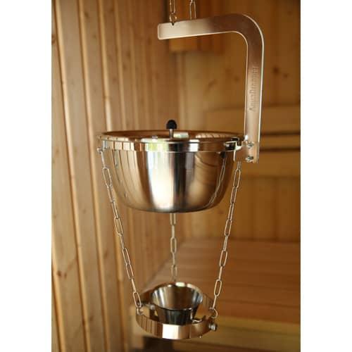 Aquadropper aus Edelstahl - 2 l