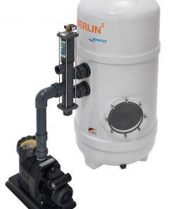 Behncke BERLIN2 Hochschicht-Filteranlage mit Besgo Stangenventil & frequenzgesteuerter Pumpe