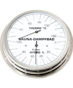 Dampfbad-Klimamesser mit Flansch 130 mm