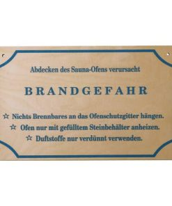 "Schild ""Brandgefahr"""