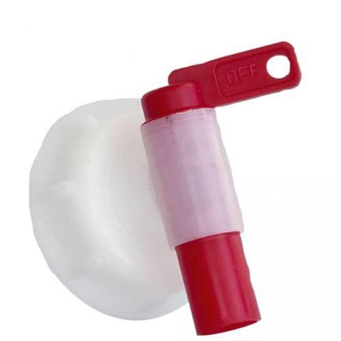 Auslaufhahn für Kanister Durchmesser innen 6 cm