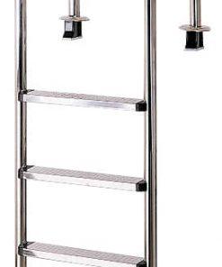 INA Edelstahl-Einbauleiter 5-stufig für Pools aus Edelstahl V2A