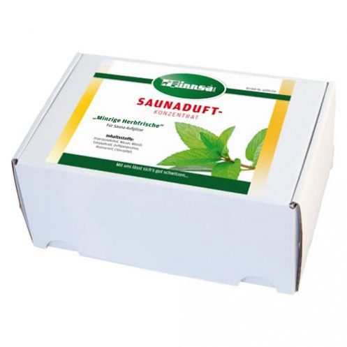 24 x Saunaduft 15 ml / Minzige Herbfrische