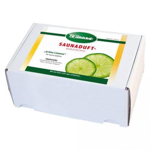 24 x Saunaduft 15 ml / Grüne Limone