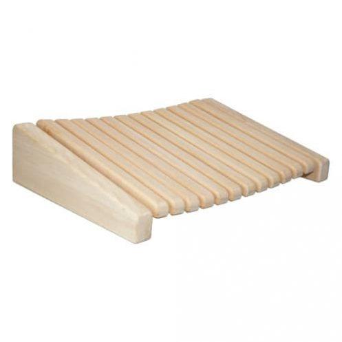 Sauna-Kopfstütze aus Abachi-Holz