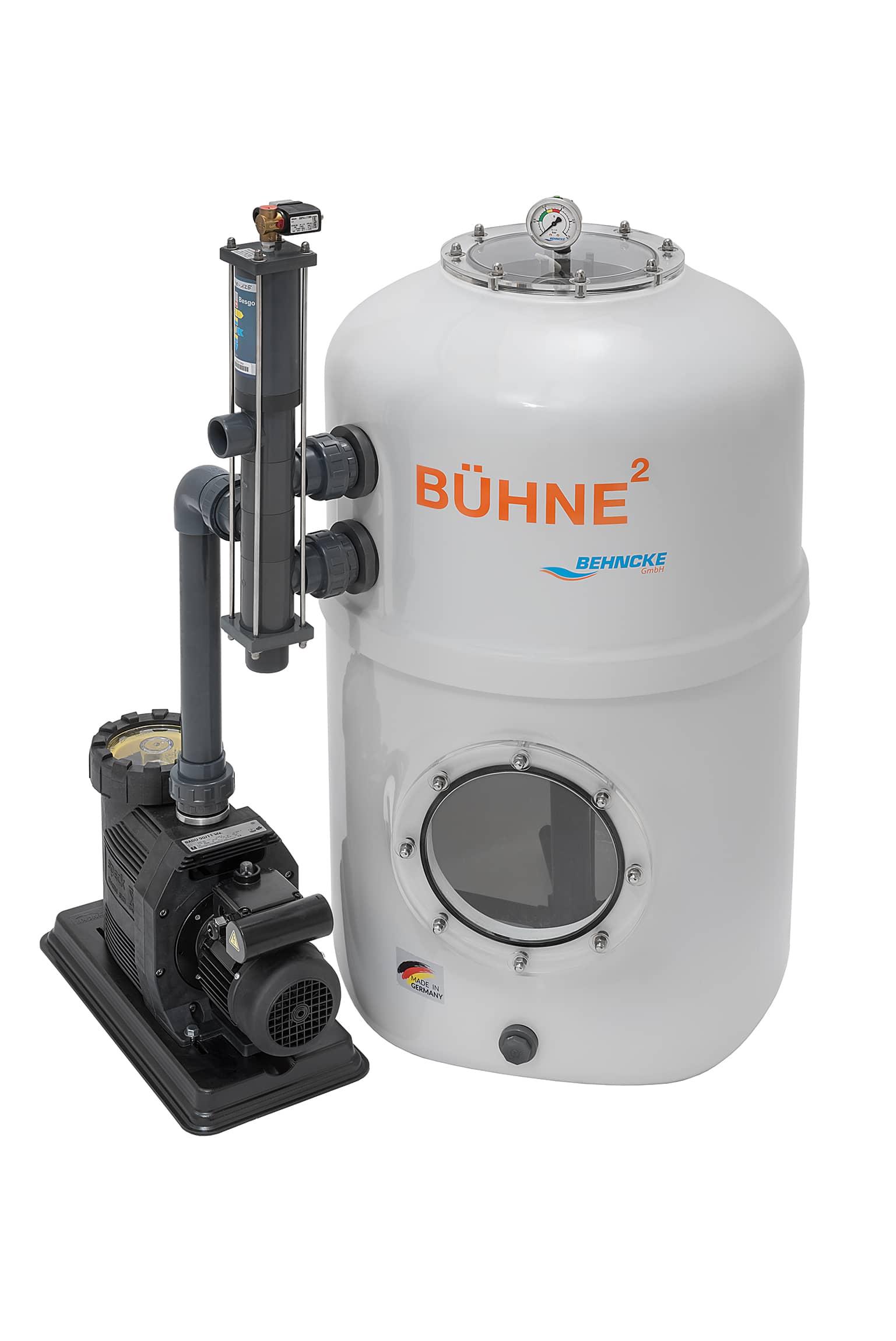 Behncke b hne2 filteranlage mit besgo stangenventil 600x14 mit pumpe comfort 14 g nstig bei - Pool rechteckig mit pumpe ...