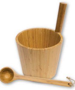 Bambus Sauna-Kübel 5 l incl. Kelle