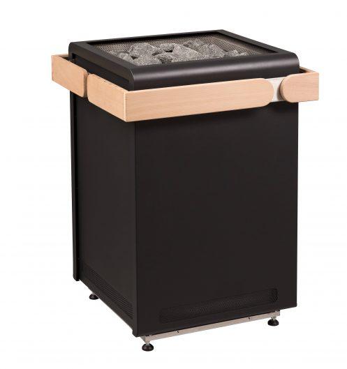Sentiotec Concept R black Sauna-Ofen 15